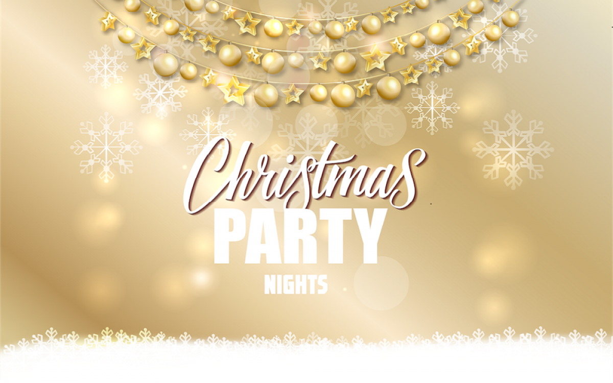 It's time to plan Your Christmas or New Year Party