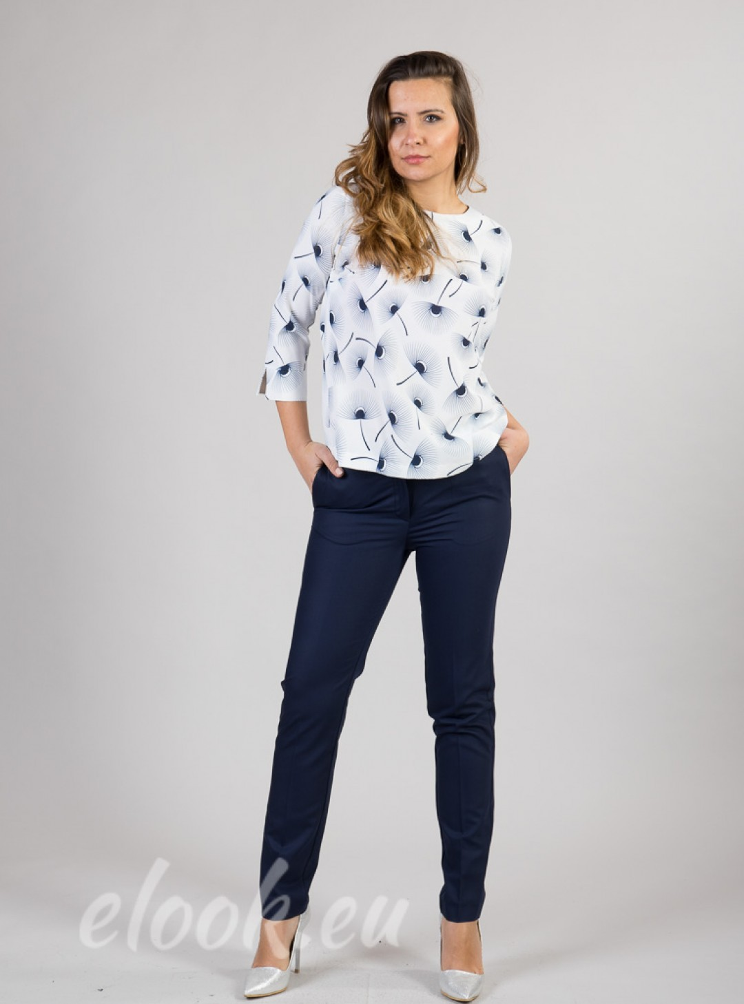 Business style trousers with I...