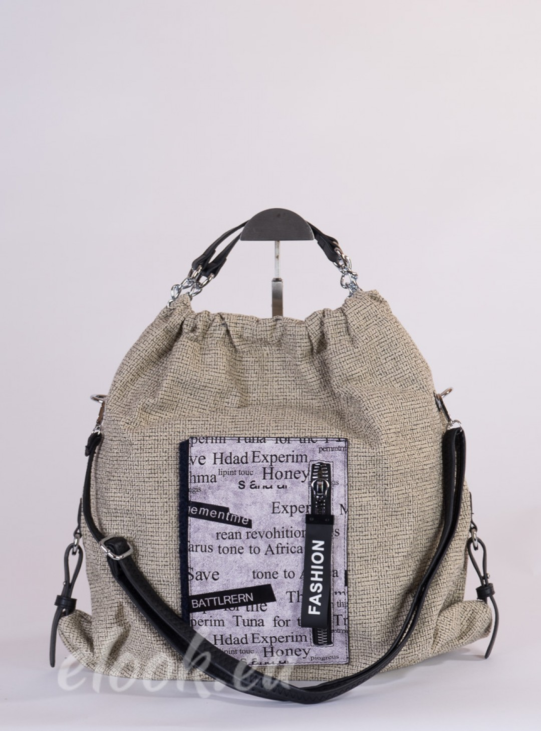 Handbag in sporty style and pr...