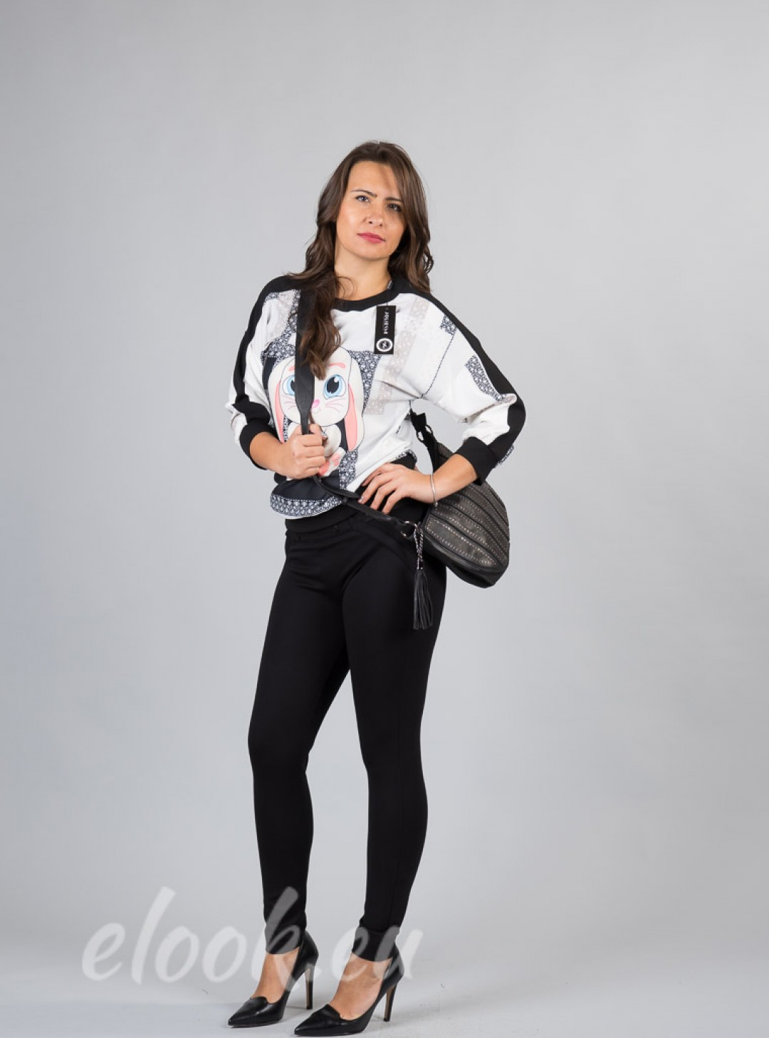 Leggings with elegant fit and ...