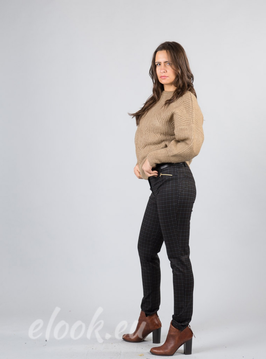 High-density leggings with a t...