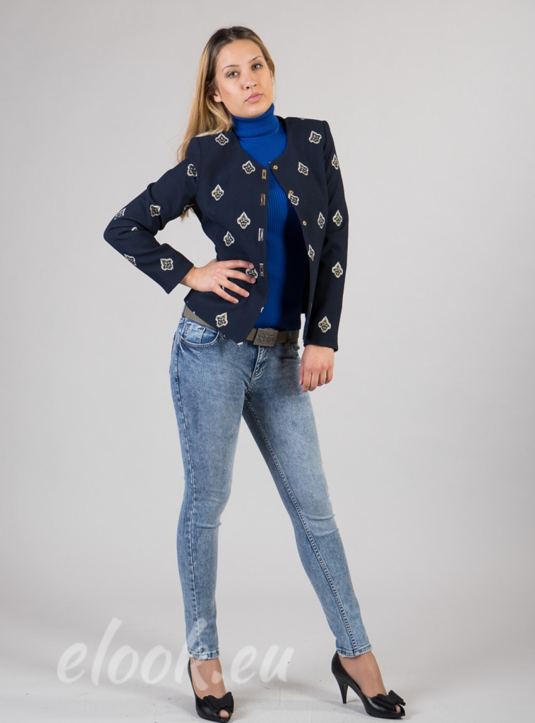 Tailored jacket with